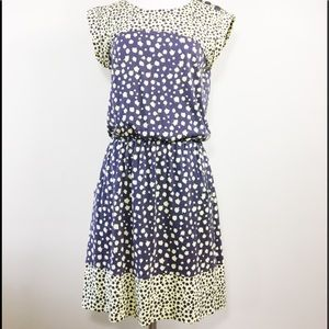 BODEN Adelaide yellow and gray sleeveless dress 6